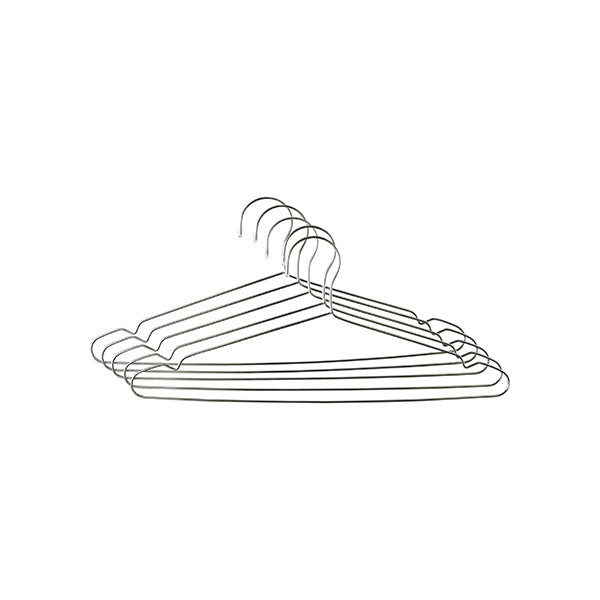 Bento Ninja Stainless Steel Clothes Hangers - x5