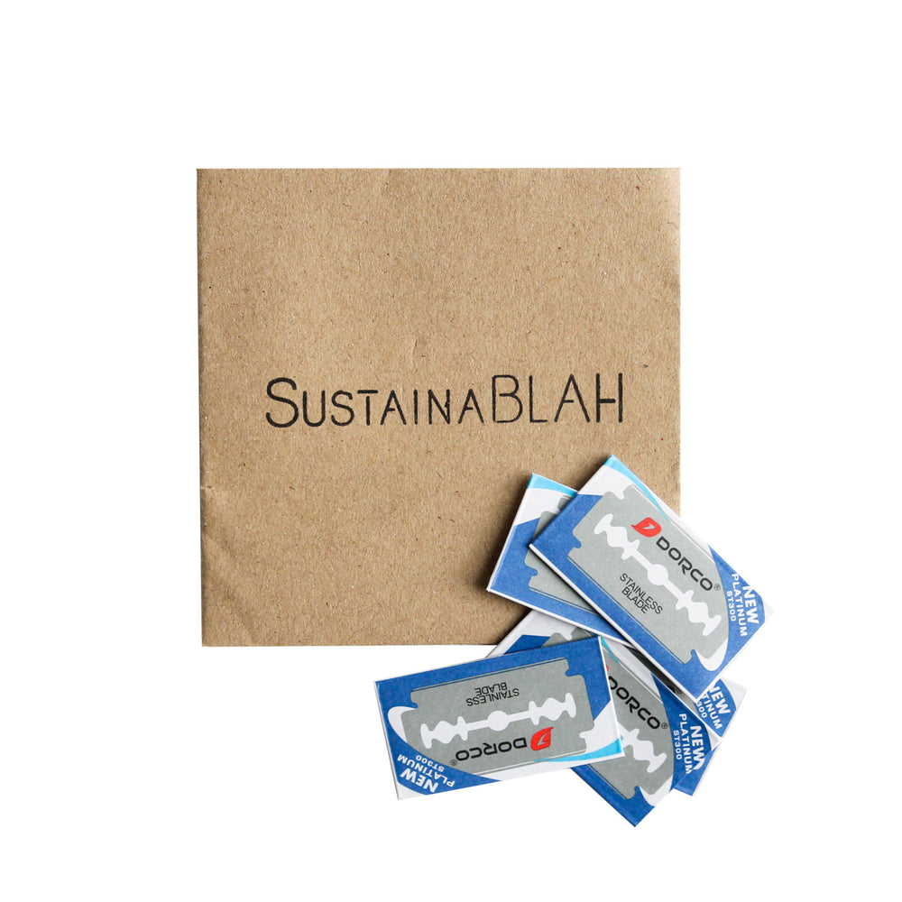 SustainaBLAH Safety Razor Blades