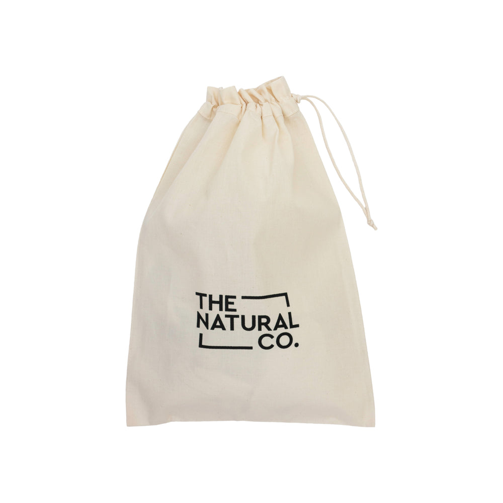 The Natural Co. Organic Cotton Drawstring Bag