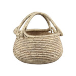 Summer Woven Basket with handles - Large