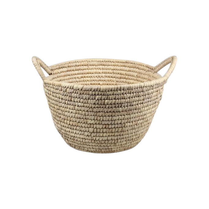 Woven Washing & Storage Basket with handles