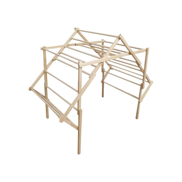 Wooden Clothes Drying Rack - The Grandad