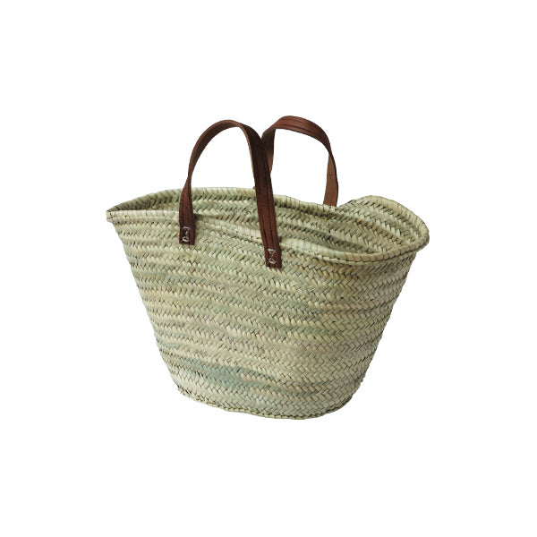 Woven Eco Market Basket with handles - Small