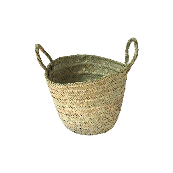 Woven Eco Storage Basket with handles small