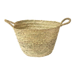 Woven Washing Basket with handles Large