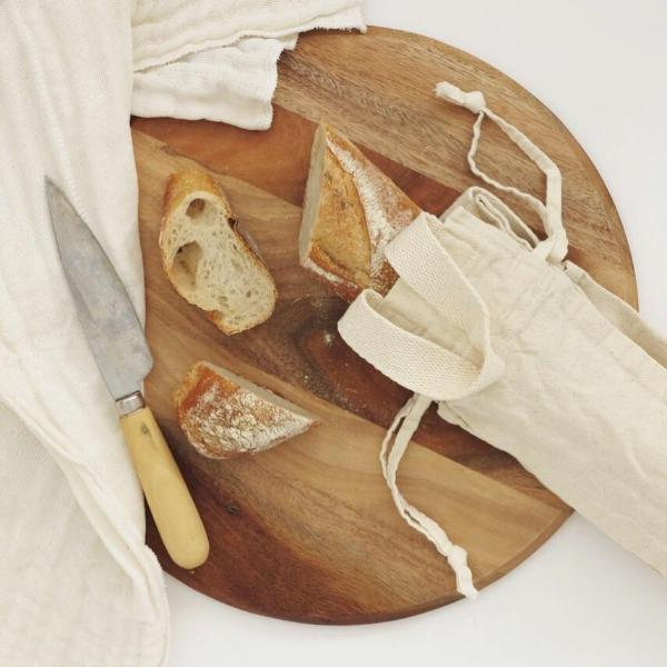 Rethink Reusable Cotton Bread Storage Bag - Long