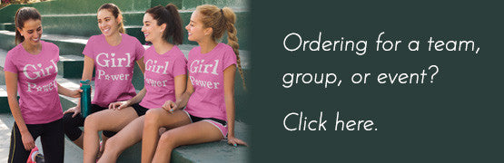Ordering for a team, group, or event? Click here.