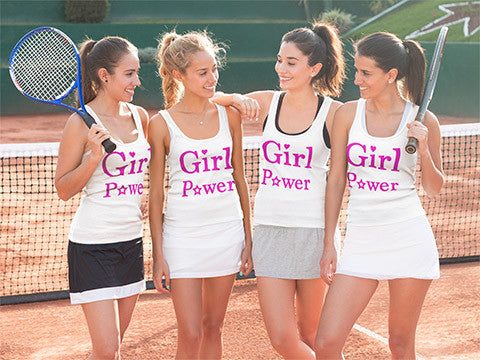 Sports Teams, Groups, Events Girl Power Shirts