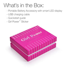 Girl Power Portable Battery Accessory Packaging Box
