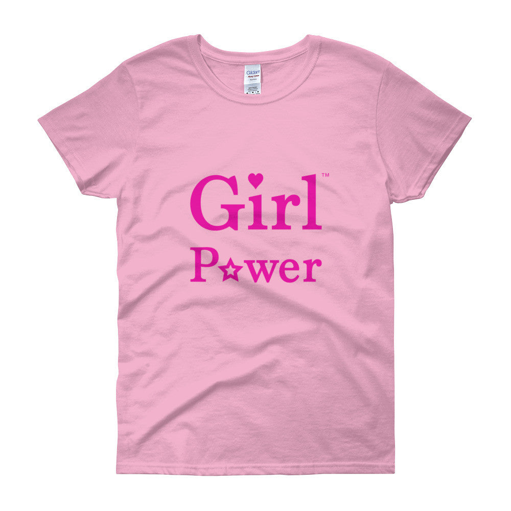 Basic T-Shirt (Pink Big Text)