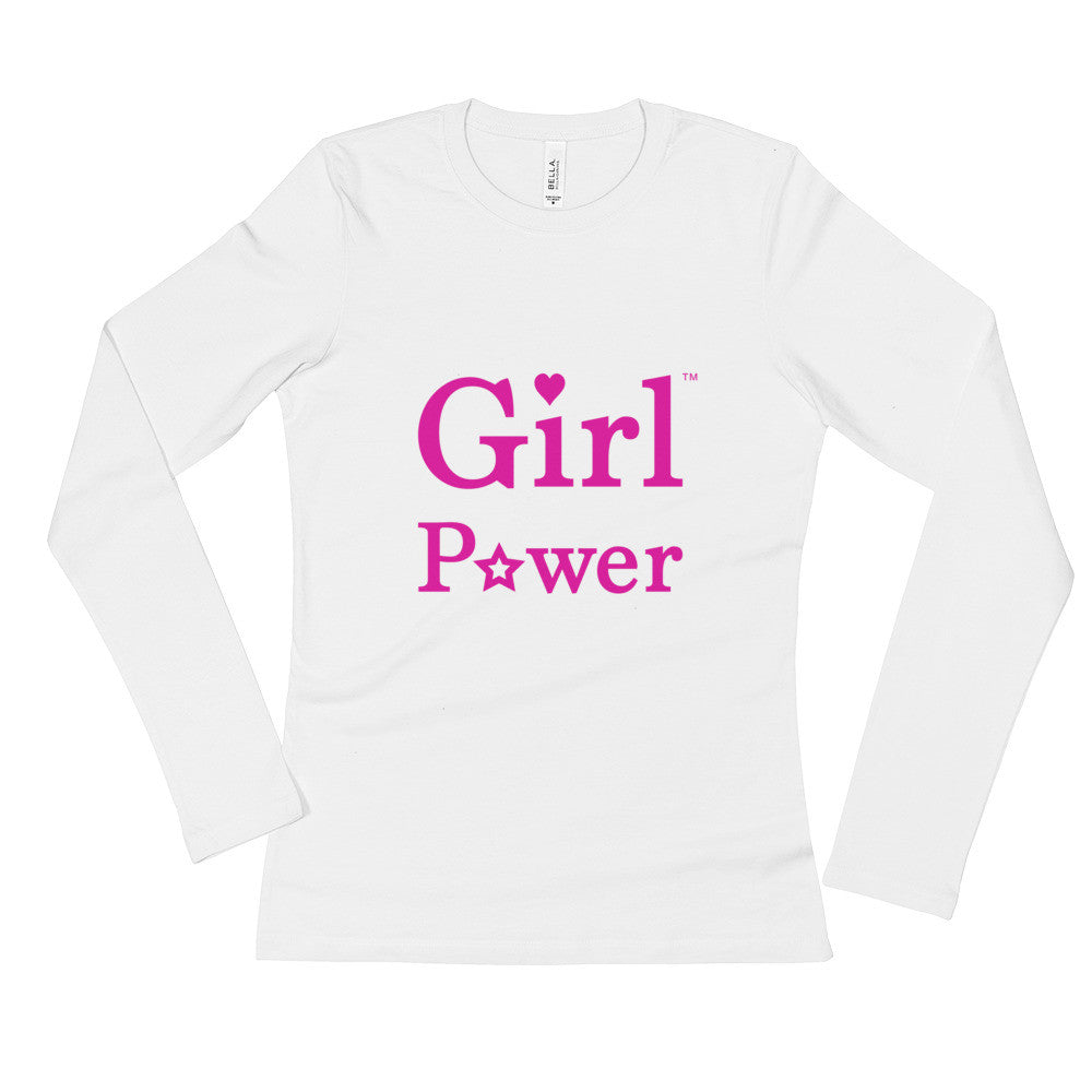 Long Sleeve Shirt (Pink Big Text)