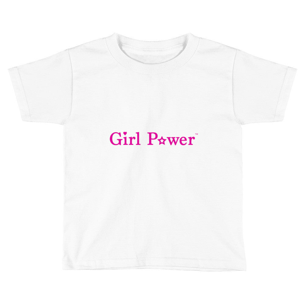 Toddler Tee (Pink Text)