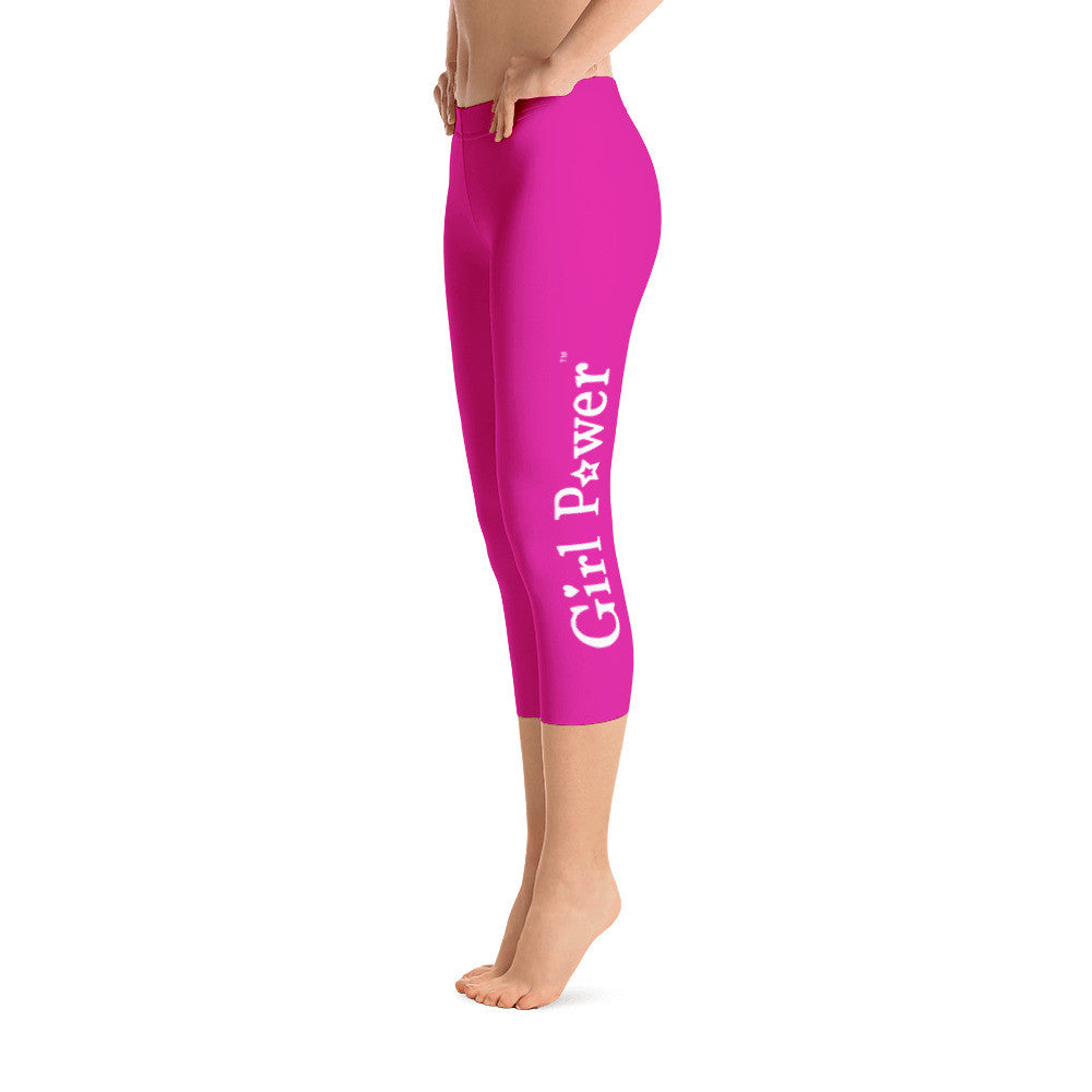 Capri Leggings (White Text)