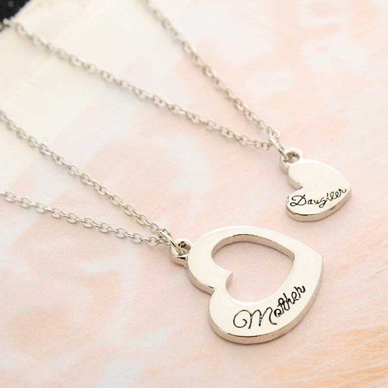 Mother and daughter heart pendants directdigitaldeals mother and daughter heart pendants aloadofball Images