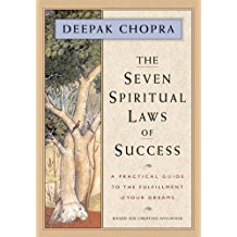 7 Spiritual Laws of Success, Deepak Chopra.  Best Spiritual books to read for Spiritual Transformation.