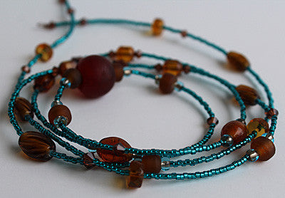 Earth and Sea Waistbeads