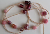 """Pretty in Rose Pink"" Waistbeads"