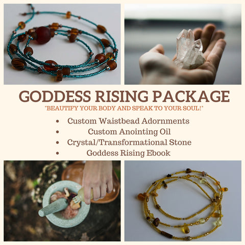 Goddess Rising Kit - Items That Will Activate And Nurture The Goddess Within