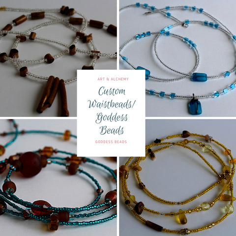 Custom Waistbeads/Goddess Beads
