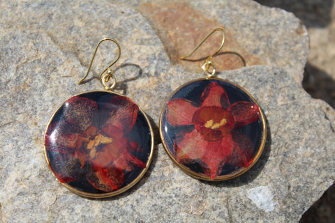 Delicate Inferno Earrings