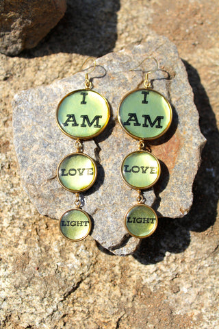 """I AM"" Love & Light Earrings"