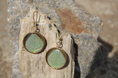 Fertile Leaf Earring