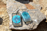 "Adinkra Symbols ""Unity"" Earrings"