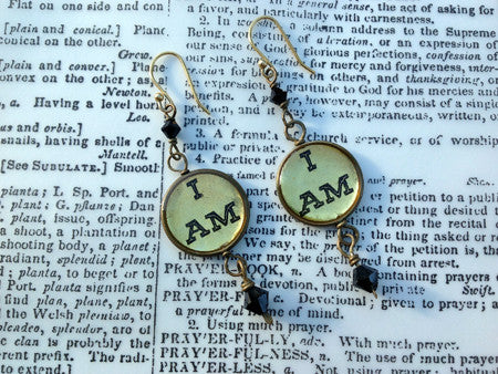 """I AM"" Classics with Glass Accent Beads"