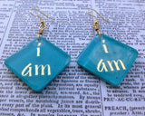 """I AM"" Teal Zeal Diamonds: Perfect Imperfections"