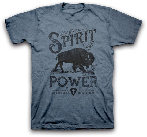 God Gave Us A Spirit of Power Christian T-Shirt
