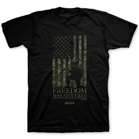 Freedom Was Not Free Adult T-Shirt