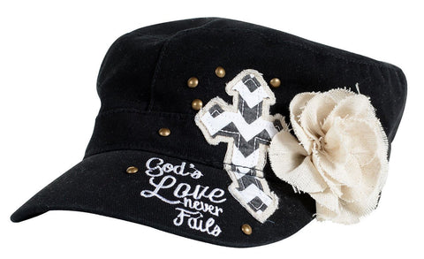 God's Love Flower Cap
