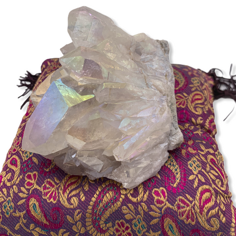 Angel Aura Quartz Cluster - For the Love of Natural Living, LLC
