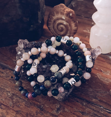 Handmade Zodiac Gemstone Bracelets - For the Love of Natural Living, LLC
