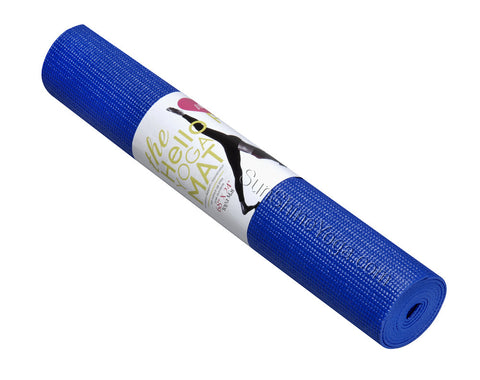 "The Hello Fit (basuc) Yoga Mat (68"" X 24"" X 1/8"")"
