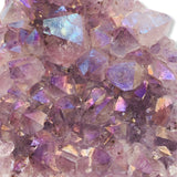 Angel Aura Amethyst Cluster - For the Love of Natural Living, LLC