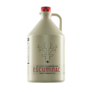 escuminac maple syrup 4l front