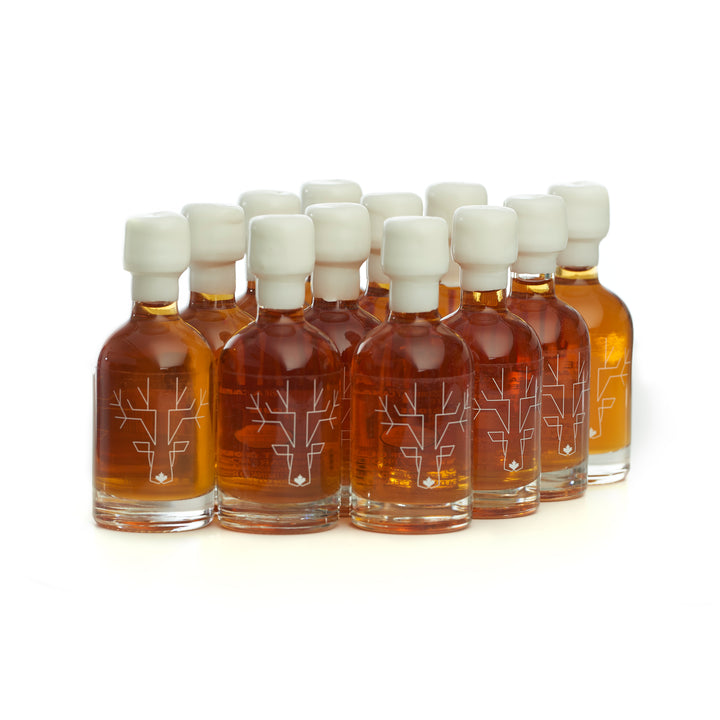 Escuminac Extra Rare Maple Syrup Minis - 12 x 50 ml sample size