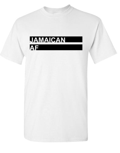 Jamaican AF T-Shirt White