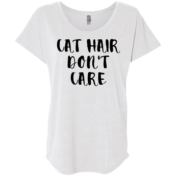 Cat Hair Don't Care- Women's Tee