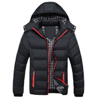 Fit Slim Winter Hooded Jacket