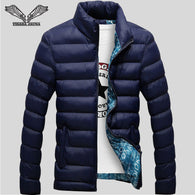 Fit Slim Quilted Mens Winter Jackets