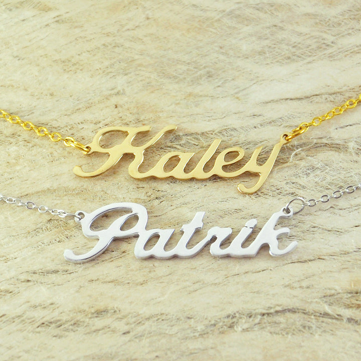 Custom Name Pendant Necklace