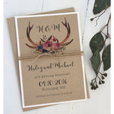 The Hunt is Over-Save the Date-Love of Creating Design Co.