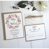 Isabelle - Romantic Floral-Wedding Invitation Suite-Love of Creating Design Co.