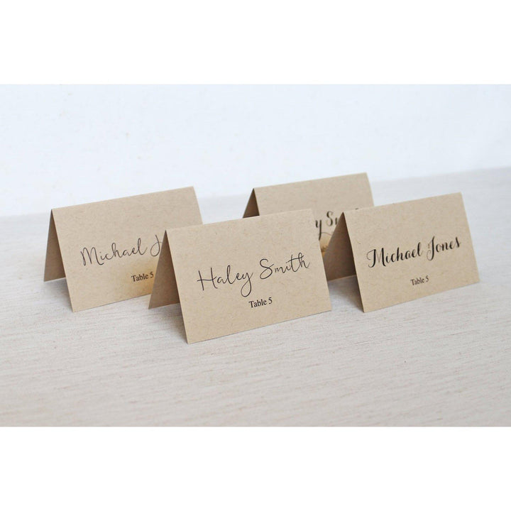 Simple Rustic-Place Cards-Love of Creating Design Co.