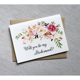 Isabelle - Romantic Floral-Bridesmaid Proposal-Love of Creating Design Co.