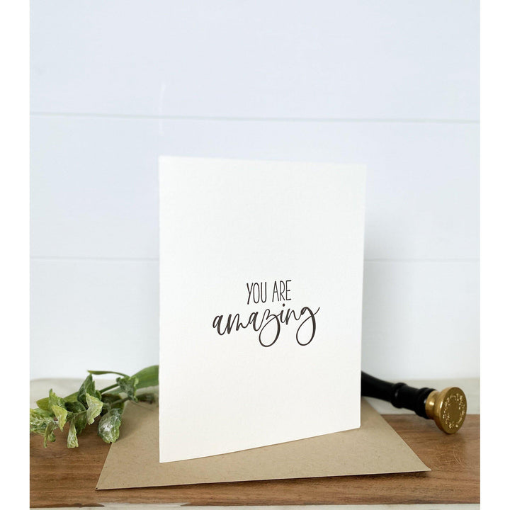 You are Amazing | Greeting Card