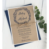 Simply Rustic-Wedding Invitation Suite-Love of Creating Design Co.