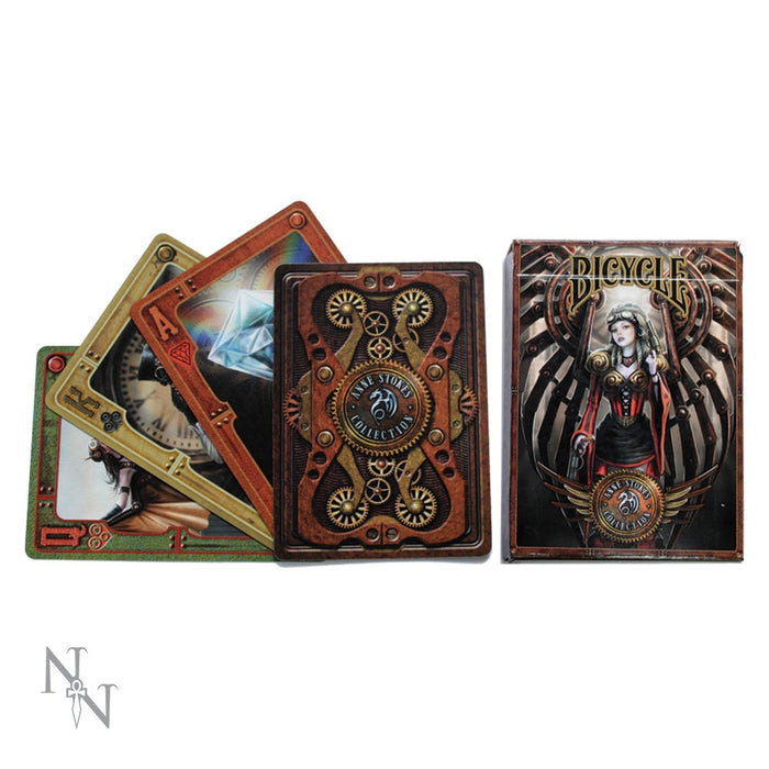 Anne Stokes Steampunk Playing Cards - Gemwaith